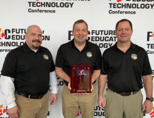 High School STEM Partner Wins National Award!